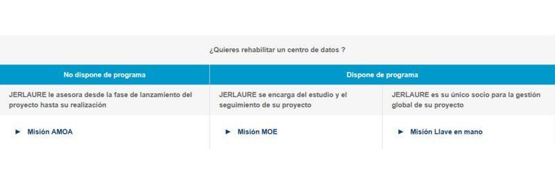 Programmas rehabilitacion datacentro Jerlaure