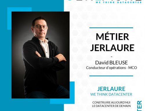 MÉTIER JERLAURE – David BLEUSE, conducteur d'opérations – MCO