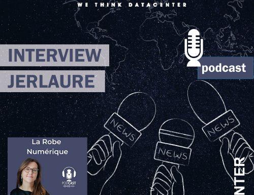 Entendu en Podcast – JERLAURE au micro de la robe numérique